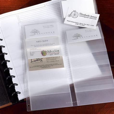 Discbound Business Card Holder