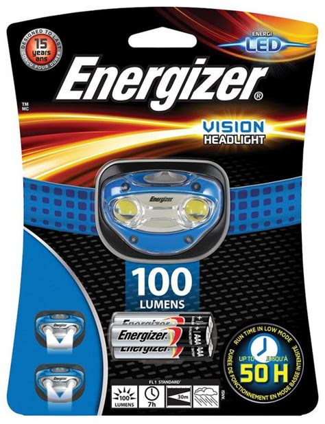 Lu Led Energizer energizer vision led torch 100 lu productfrom