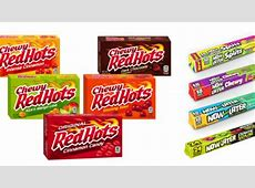 Revamped Candy Packaging Designs : candy brand Now And Later Candy Flavors