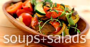 soup salad recipes local organic meals on a budget