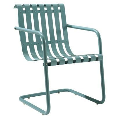 gracie metal retro patio chair furniture outdoor