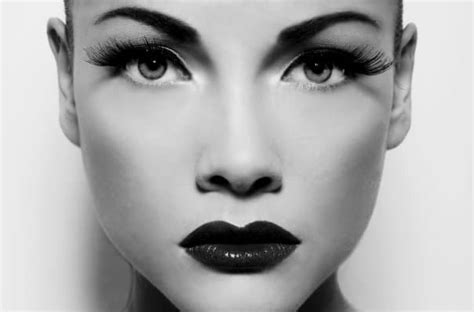Detox Grayscale Makeup by 3 Black And White Makeup Tutorials To Check Out