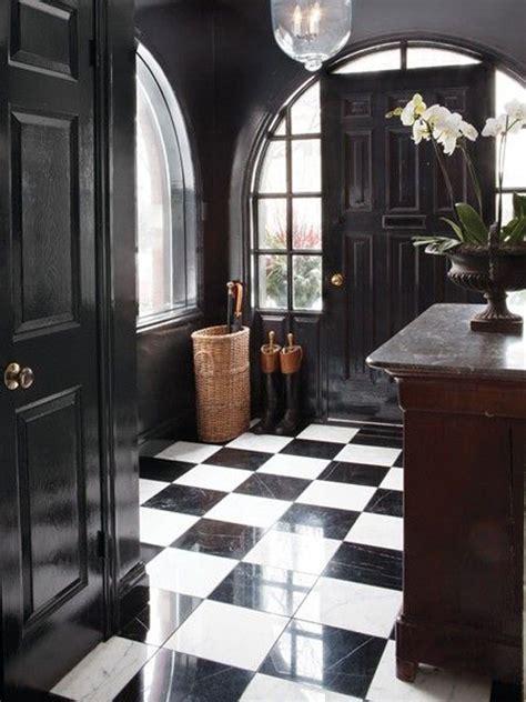 floors and decors foyer flooring inspiration black white checkered tile