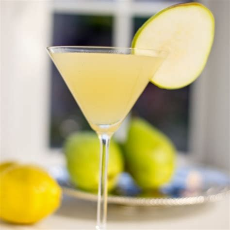 martini pear pear vodka martini
