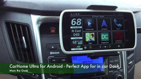carhome ultra for android app for in car dock