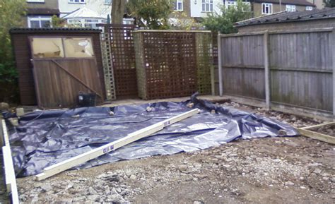 How To Lay Base For Shed by Bases And Groundworks Shedcentre Ousebank