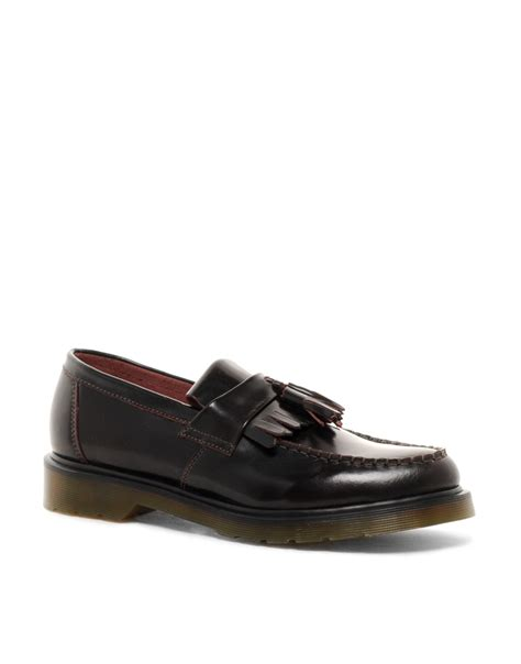 dr martens loafers with tassels dr martens adrian tassel loafers in for lyst