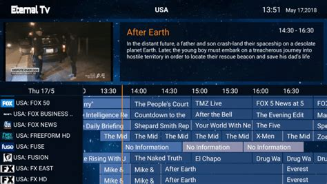 eternal tv iptv    hd tv channels