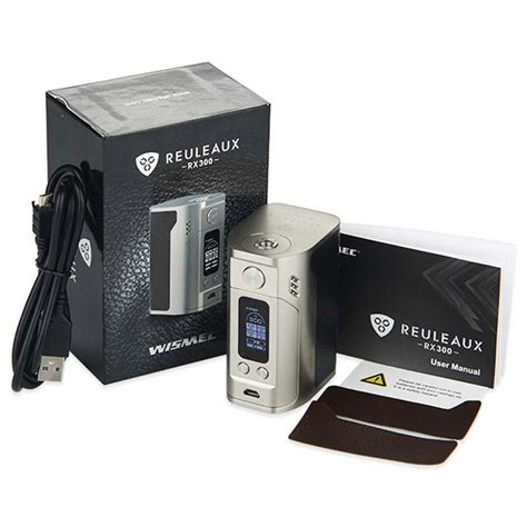 Wismec Reuleaux Rx 23 Mod Rokok Elektrik Authentic Ori 1 authentic wismec reuleaux rx300 300w mods black jakartanotebook