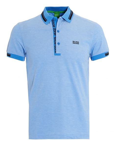 Polo Shirt Garuda 4 hugo green mens paule 4 oxford pique regatta sky blue polo shirt