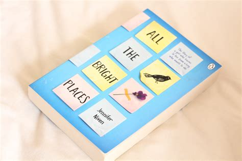 libro all the bright places all the bright places book review five foot seven