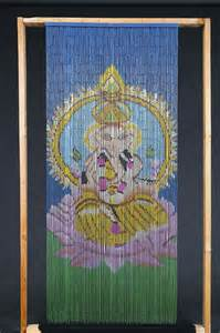 beaded curtains hippie ganesha beaded curtain door beads home pinterest