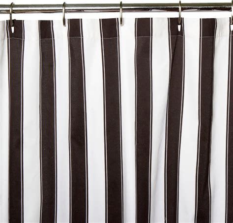 black stripe curtains black and white stripe shower curtain modern shower