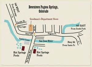pagosa springs co map