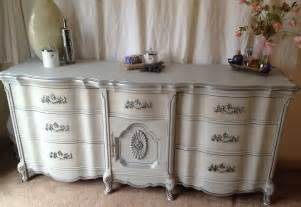 French Jewelry Armoire Vintage French Provincial Dresser Paris Grey Silver A