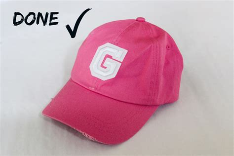 diy baseball cap it s a g thang