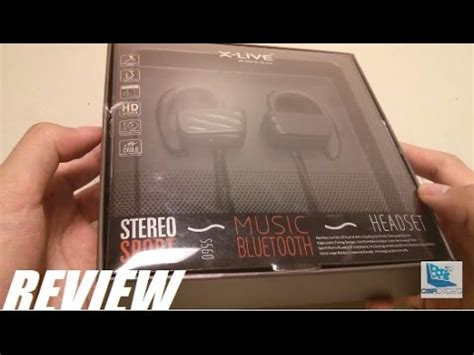 Headset Bluetooth X Live review x live s560 bluetooth sports headset