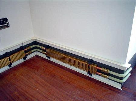 problemi riscaldamento a pavimento riscaldamento battiscopa problemi accogliente casa di