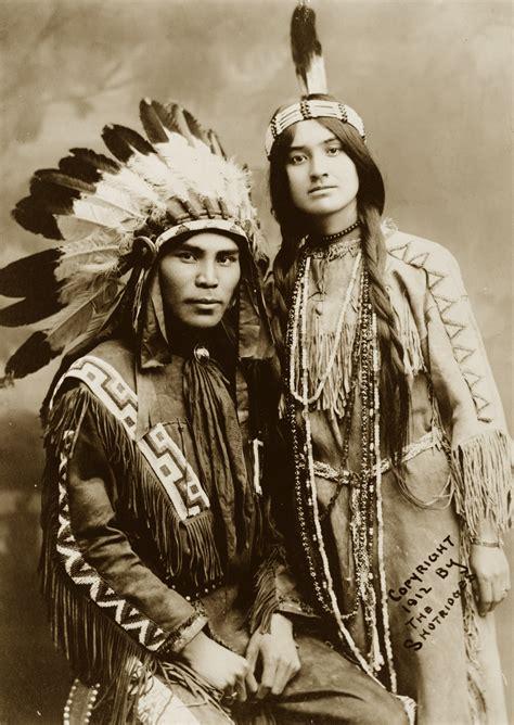 1800s cherokee women hairstyles native north american couple situwuka and katkwachsnea