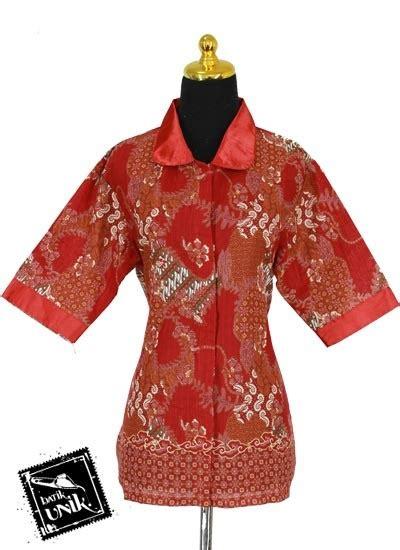 Kemeja Batik Pekalongan Fmc 345 baju batik sarimbit blus motif kotemporer tumpal truntum
