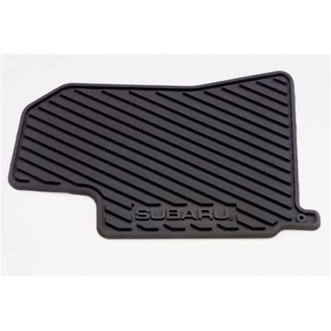 2005 Subaru Outback Floor Mats by Subaru Outback Rubber All Weather Floor Mats Part No