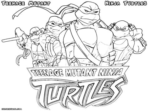 ninja turtle happy birthday coloring page teenage mutant ninja turtles color pages kids and adult