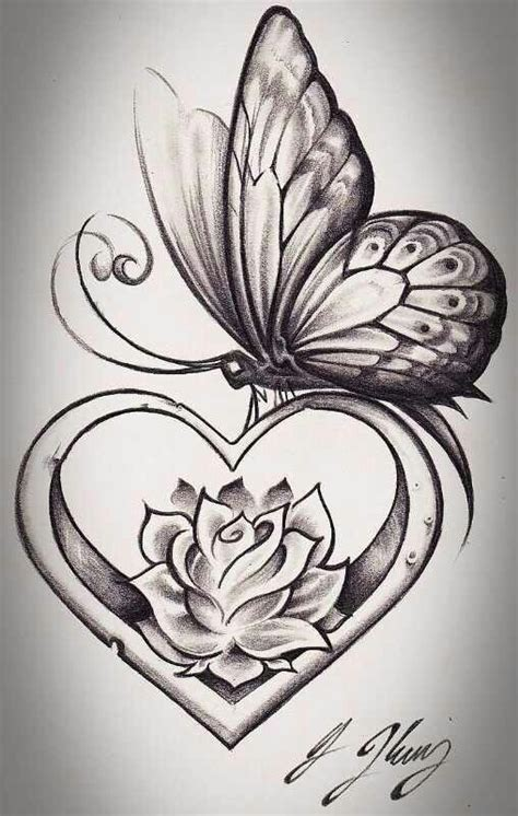 lotus tattoo with butterfly butterfly lotus heart tattoos i love pinterest