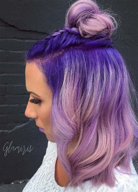 lavender color hair 50 lovely purple lavender hair colors purple hair