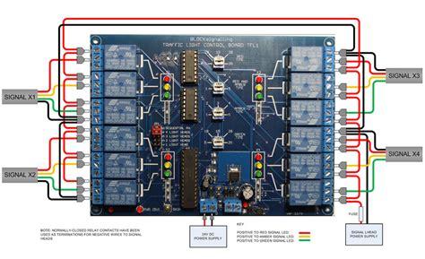 Blocksignalling Traffic Light Signal Controller 4 Way