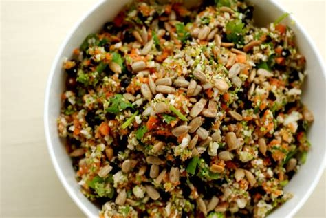 Https Pinchofyum Detox Cauliflower Salad by Broccoli And Cauliflower Salad With Lime And Cilantro
