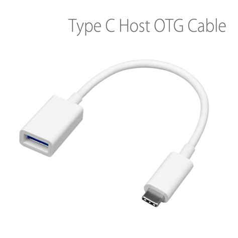 Otg Kabel Type C Konector Usb Type C Kabel avantree usb c host otg kabel smartfones dk luxury mobile accesories