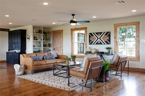 living room shows joanna s design tips southwestern style for a run down