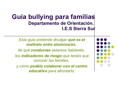 articulo bullying slideshare bullying
