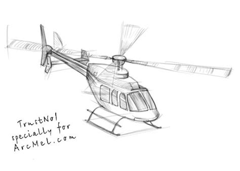 doodle helicopter how to draw a helicopter step 4