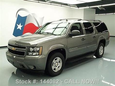 Chevy Suburban Roof Rack by Find Used 2007 Chevy Suburban 9 Pass Roof Rack Park Assist 77k Mi Direct Auto In Stafford