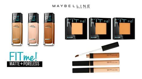 Maybelline Fit Me Poreless Powder review demo wear test maybelline fit me matte