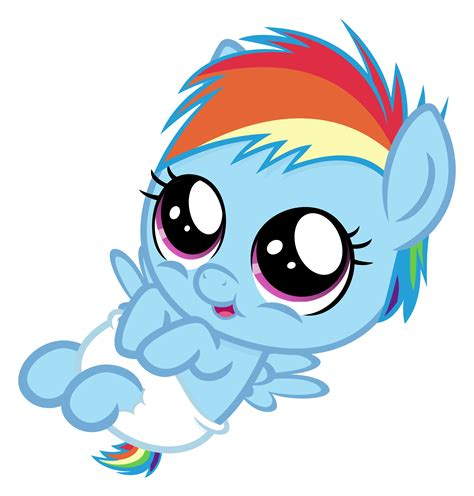 My Pony Rarity Friends Original Hasbro my pony friendship is magic baby rainbow dash