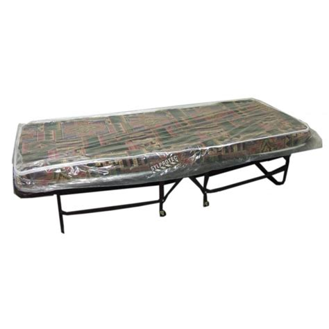 30 X 74 Mattress by Folding Bed Cot With Mattress And Casters