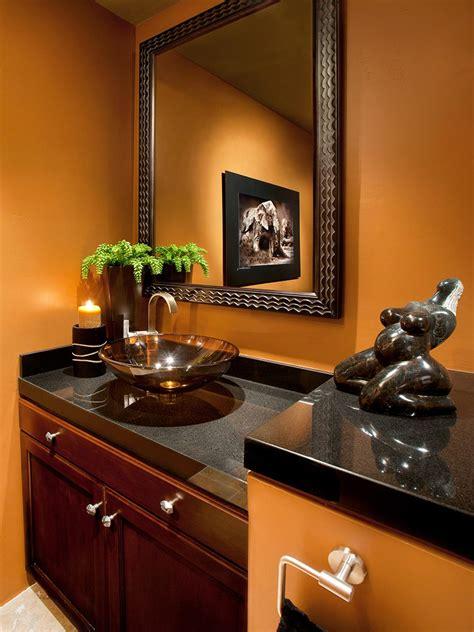 warm colours for bathroom 12 designer bathrooms for less bathroom ideas designs hgtv