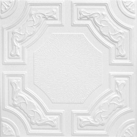 glue on ceiling tiles a la maison ceilings evergreen 1 6 ft x 1 6 ft foam glue