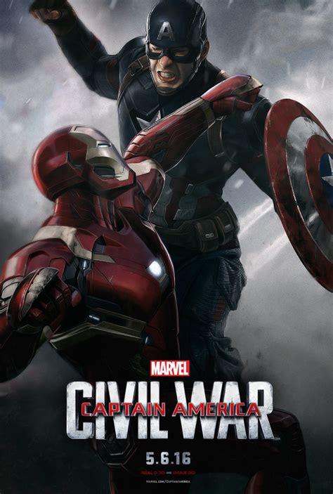 film captain america marvel captain america civil war 2016 movie posters