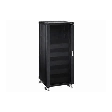 omnimount re27 enclosed 27 space rack with integrated cooling