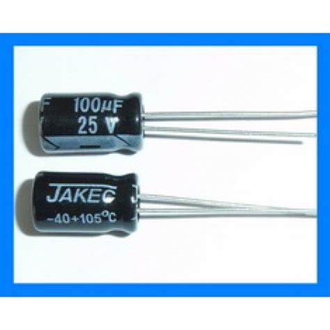 100uf 25v axial capacitor 100uf 25v 105c radial electrolytic capacitor 6x11mm