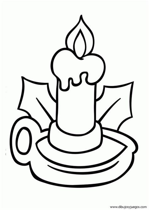 imagenes de velas navideñas para dibujar dibujos velas navidad 009 dibujos y juegos para pintar