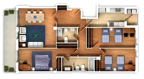 Top House Plans 25 three bedroom house apartment floor plans