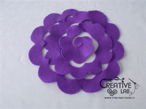 fiori di feltro schemi oltre 1000 idee su fare fiori di stoffa su