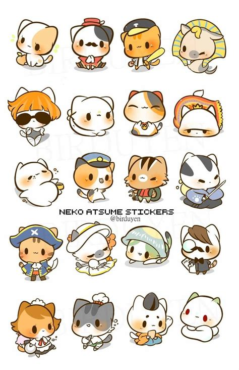 printable cat stickers best 25 kawaii stickers ideas on pinterest sticker