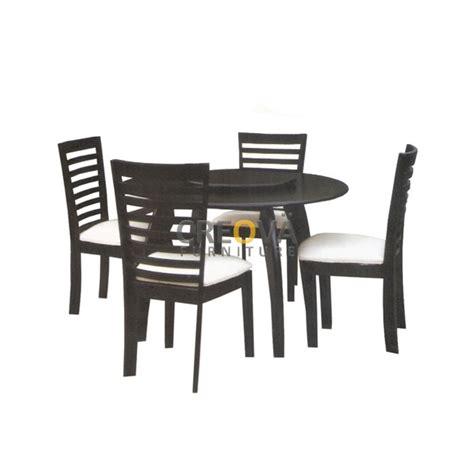 Kursi Busa Bulat dining set hawai 4 kursi toko jual furniture meubel