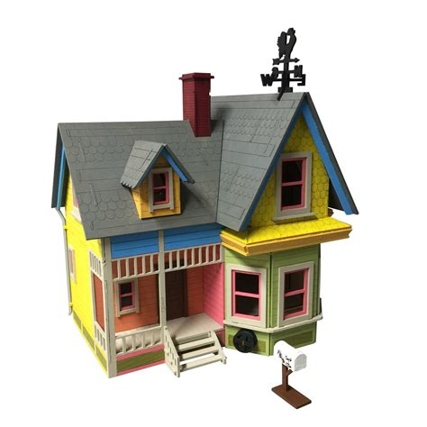 printable picture of up house new version up house model kit wedding present engagement