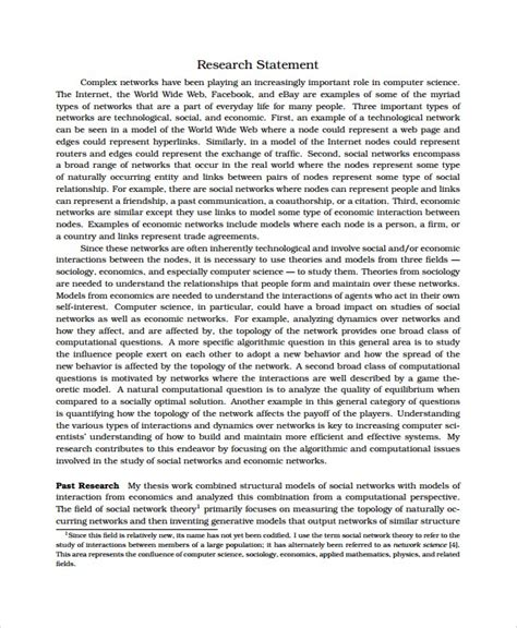 research statement template merrychristmaswishesinfo